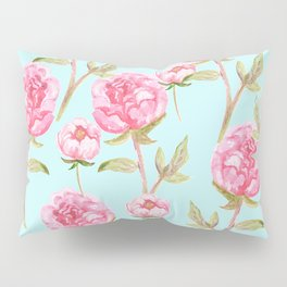 Pink Peonies Pillow Sham