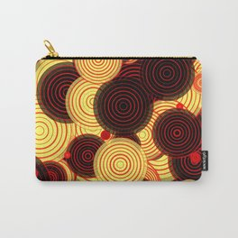 Layered circles Carry-All Pouch