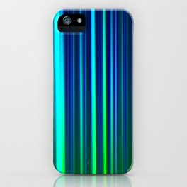 Eggplant LED Sculpture Light Painting iPhone Case
