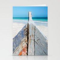 andreas preis Stationery Cards featuring CONTRAST by Catspaws