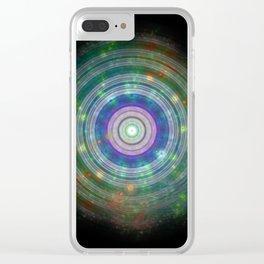 Mystic Portal Clear iPhone Case