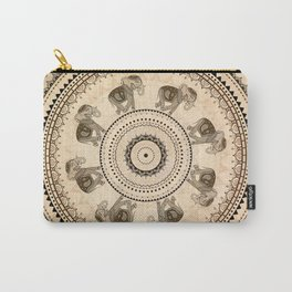 Mandala. Indian decorative pattern. Carry-All Pouch