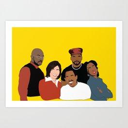 Marrtttiinnnn - Classic TV Art Print