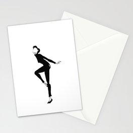 Funny Face | Fashion Illustration Stationery Cards