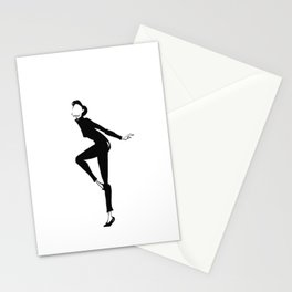 Funny Face | Fashion Illustration Stationery Cards