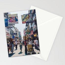 Streets of the Market, Colombo, Sri Lanka Stationery Cards