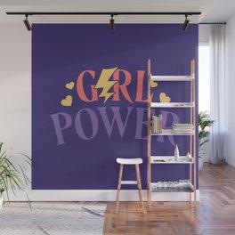 Girl Power Feminist Wall Mural