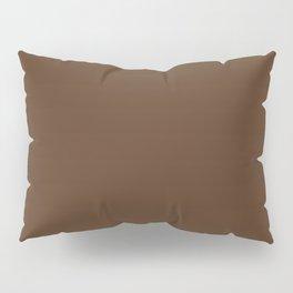143. Kuro-Cha (Black-Brown) Pillow Sham