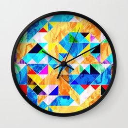 Geometric VIII Wall Clock