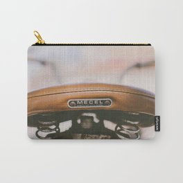 Vintage Bike Saddle Carry-All Pouch