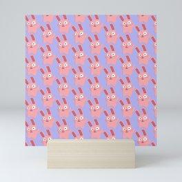 Freezer Bunny Mini Art Print
