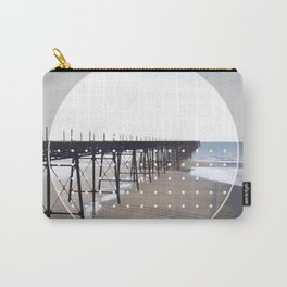 Victorian Pier - circle graphic Carry-All Pouch