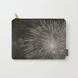 July 4th Celebrations in Seattle Black and White Fine Art Carry-All Pouch