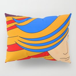 Colourfull lady Pillow Sham