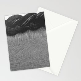 Braided Mane Stationery Cards