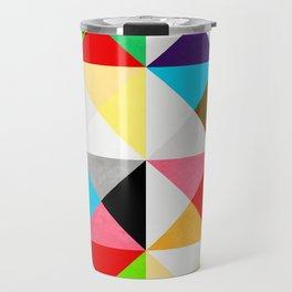 Geometric Morning Travel Mug