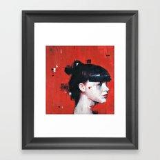 Facing Obstructions 4 Framed Art Print