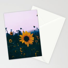 Moody Sunflowers Stationery Cards