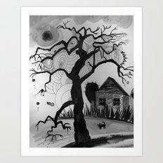 dark tale Art Print