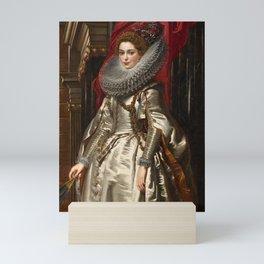 Peter Paul Rubens - Portrait of Marchesa Brigida Spinola-Doria Mini Art Print