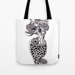 Fish Can Talk  Tote Bag