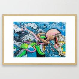 AFH 2018 Street Art 6 Framed Art Print