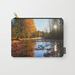 Salmon Sanctuary - Adams River BC, Canada Carry-All Pouch