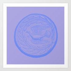 Peloponnesian Coin No. 1 Art Print