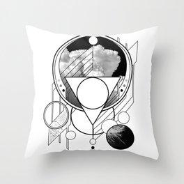 Open Arcana: Convergence Throw Pillow