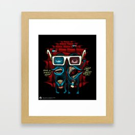 The 3D Fake Framed Art Print