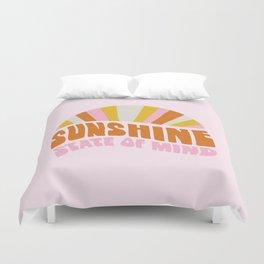 sunshine state of mind, type Duvet Cover
