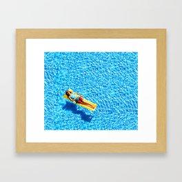 What The Summer Sun Sees 1 Framed Art Print