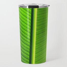 Tropical Leaf Travel Mug