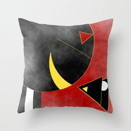 Just keep on Smiling! Throw Pillow