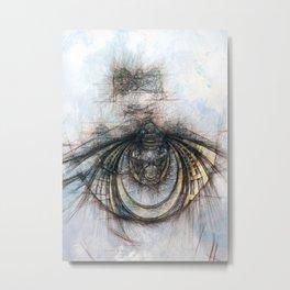 Eye of the Beholder Metal Print