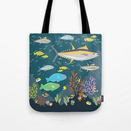 Hawaiian Reef Tote Bag