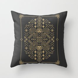 Claim Your Calm Throw Pillow