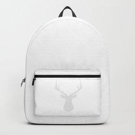Deer - gray strips. Backpack