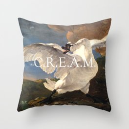 C.R.E.AM. Throw Pillow
