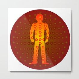 Standing Man Metal Print