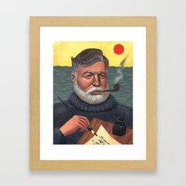Hemingway Framed Art Print