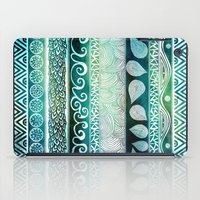 mini iPad Cases featuring Dreamy Tribal Part VIII by Pom Graphic Design