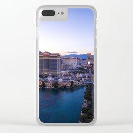 Las Vegas Strip Panorama Clear iPhone Case