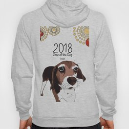 Year of the Dog - Beagle Hoody