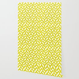 Yellow Geometry Pattern Wallpaper