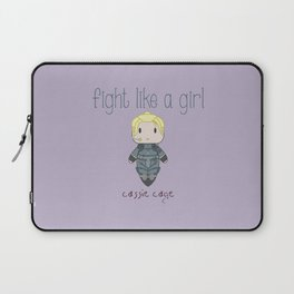 Fight Like a Girl 28 - Cassie Cage Laptop Sleeve