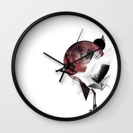 Hope of Love for Japan Wall Clock