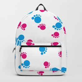 Baby Footsteps background #society6 #decor #buyart #artprint Backpack