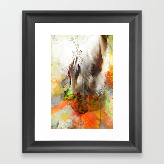 Ptelea Framed Art Print