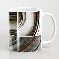 metal Mugs featuring Metal by Erica Schiavi